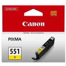 Тонер Canon CLI-551 Y, жёлтый, Standard, A4...