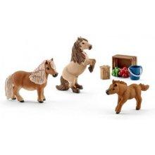 Schleich семья Shetland ponies