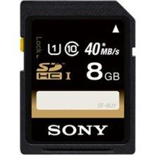 Mälukaart Sony SDHC 8GB (40MB/s)