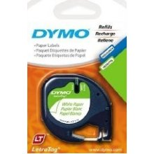 Dymo 12mm LetraTAG Paper tape, Paper...