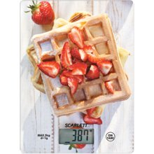 Scarlett Kitchen scale SC - KS57P16 Maximum...