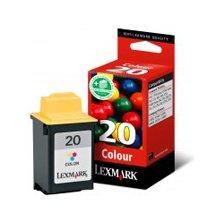 Tooner Lexmark Nr.20 Tinte Farbig