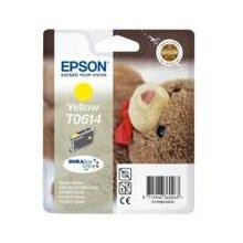 Тонер Epson чернила T0614 жёлтый DURABrite |...