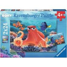 RAVENSBURGER pusle 2x24 tk Dory