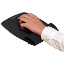 FELLOWES mouse and wrist silicone pad, black