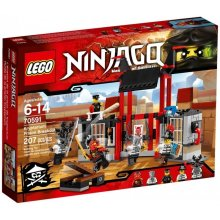 LEGO Ninjago Escape from prison Kryptarium