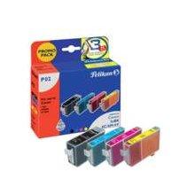 Tooner Pelikan Tinte 4 Farben BCI-3E BK-6