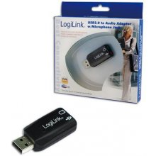 LogiLink USB Audio адаптер, 5.1 sound effect