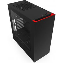 Korpus NZXT arvuti S340 Black-red