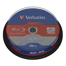 Диски Verbatim BluRay BD-RE SINGLE LAYER [...