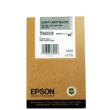 Тонер Epson T6059 краска светло-черный