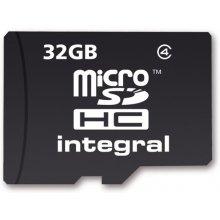 Mälukaart INTEGRAL MICROSDHC 32GB