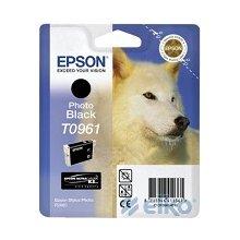 Тонер Epson T0961 чёрный ink cartrige