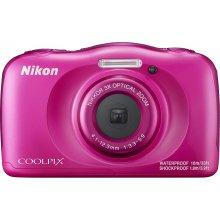 Fotokaamera NIKON Coolpix W100, roosa