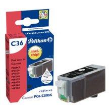 Tooner Pelikan Tinte bk (Canon PGI-520)