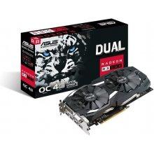 Videokaart Asus DUAL-RX580-O4G AMD, 4 GB...