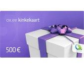 OX.ee kinkekaart 500 €