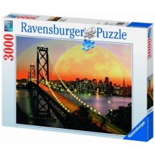 RAVENSBURGER 3000 EL. San Francisco at night