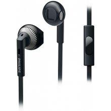 Philips наушники, kõrva sisesed,mikr. чёрный