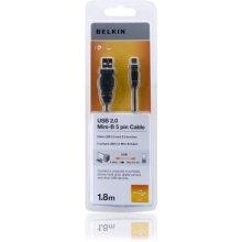 BELKIN F3U155CP1.8M, 2.0, USB A, mini USB B...