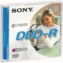 Toorikud Sony DVD-R 2,8GB 60min mini