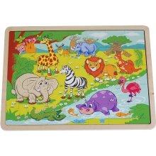 Brimarex Puzzle Wild animals