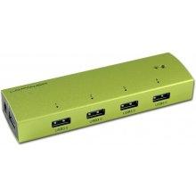LC-Power USB-Hub 4x USB 3.0 LC-HUB-EX4G Alu...