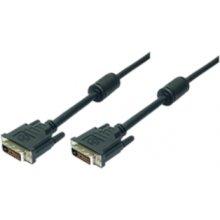 LogiLink DVI-D (24+1) - DVI-D (24+1), dual...