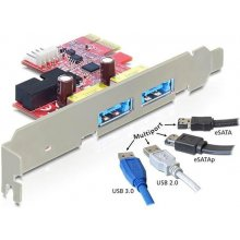 Delock PCI Expr Card 2x Multiport ext...