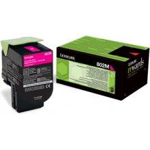 Lexmark Toner 802M magenta | return | 1000...