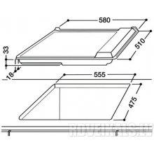 Плита INDESIT PIM 640 AS (BK) (EE)