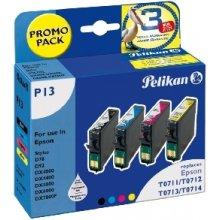 Тонер Pelikan Tinte 4-farbig (Epson T071540)