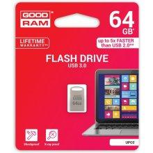 Флешка GOODRAM POINT серебристый 64GB USB3.0