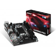 Emaplaat MSI B150I GAMING PRO Sockel LGA1151...