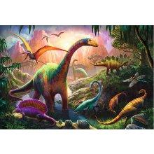 TREFL Pusle 100 Dinosaurused