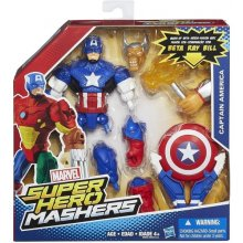 HASBRO Super Hero Mashers, Captain Amer