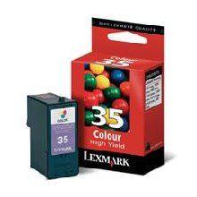 Tooner Lexmark №35 High Yield Color tint...