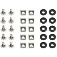 "Gembird 19"" mounting screws set (10 pcs)"