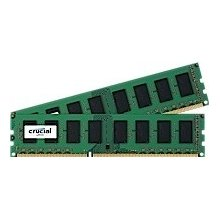 Mälu Crucial 4GB kit 2GBx2 DDR3 1600 MT/s