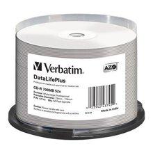 Toorikud Verbatim CD-R 50PK SPINDLE AZO lai