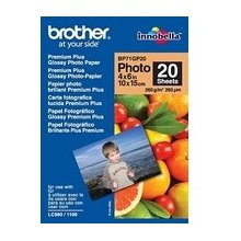 "BROTHER Paper 20 sheets glossy 6""x4"