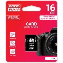 Mälukaart GOODRAM SD Card 16GB SDHC UHS-I...