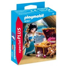 PLAYMOBIL Pirate с a treasure chest 9087