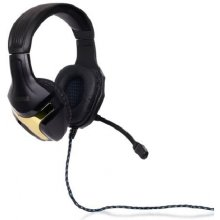 4World Stereo наушники with микрофон, black...