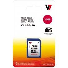Mälukaart V7 SDHC 32GB, Secure digitaalne...