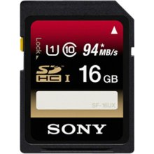 Флешка Sony 16GB SDHC Class 10, Secure...