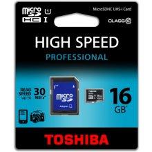 Mälukaart TOSHIBA microSDHC UHS-1 16GB