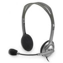 LOGITECH stereo kõrvaklapid H110 hõbedane...