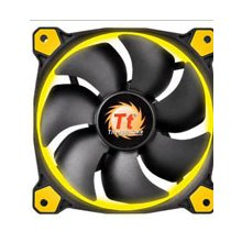 Thermaltake Fan 120mm Riing 12 LED kollane