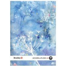 Bradley Joonistusplokk A4, 20 lehte, 210g...